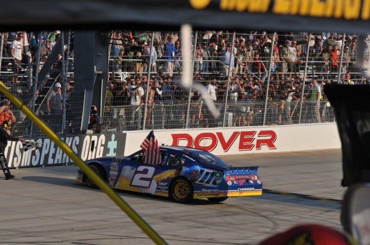 NASCAR race in Dover
