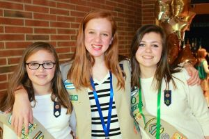 Local Girl Scouts earn awards