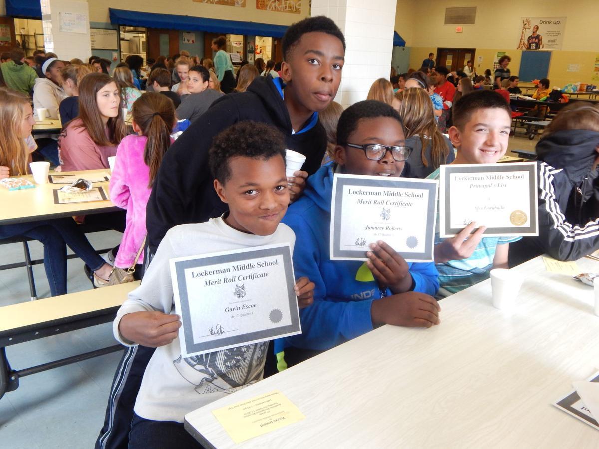 lockerman middle school honors student achievement