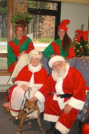 Animal Welfare League holds Breakfast With Santa
