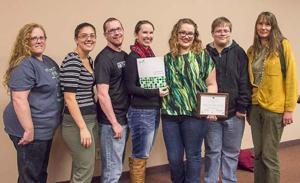 CSC Art Guild receives Community Benefactor Award