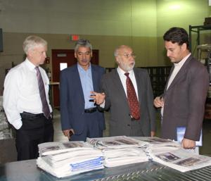 Afghan journalists share notes with Star-Herald team