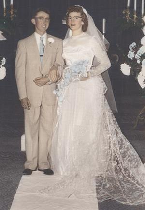 Albert and Dorothe Fox celebrate 60 years