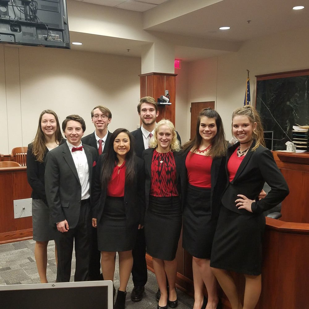 sidney takes fourth at state mock trial news com sidney takes fourth at state mock trial