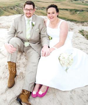 Kate Elizabeth DeCleene and Mark Daniel Huber II