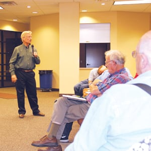 Nearly 400 hear beef plant criticisms, support