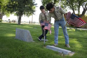 Honoring veterans at West Lawn