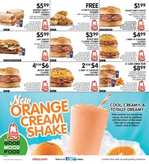 Arbys coupons july 2019