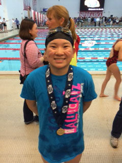 Selvey has a moment to cherish in Special Olympics race at state swim meet