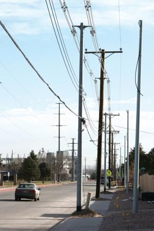 Converting power - overhead lines