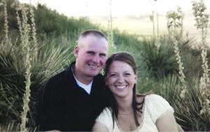Amber Reynolds and Shawn Fulk