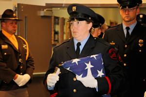 Officers from across the country honor fallen corrections officer