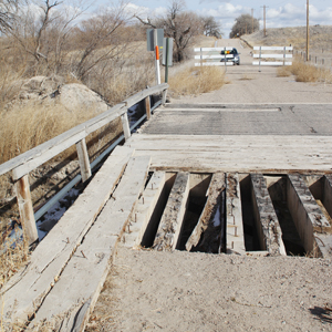 Drought takes toll on county roads