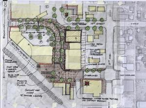 Residents and businesses share ideas about work on East Overland
