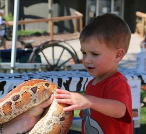 Riverside Zoo hosts 'Party for the Planet'
