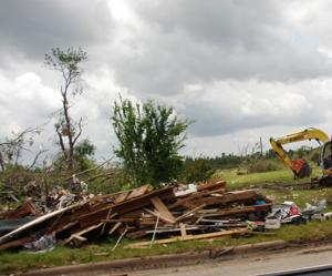 <p>Flower Mound residents donated items to the town of Van to help those who were impacted by the EF-3 tornado that devastated the town May 10. Residents then took the items to Van. In addition, Flower Mound resident Paul Perez and Mayor Tom Hayden organized a gift card collection drive that resulted in $1,185. </p>