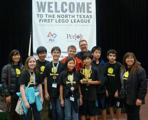 CMSN students win award at FIRST Lego League Championship