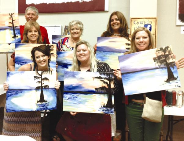 Painting with a twist business for Painting with a twist chicago