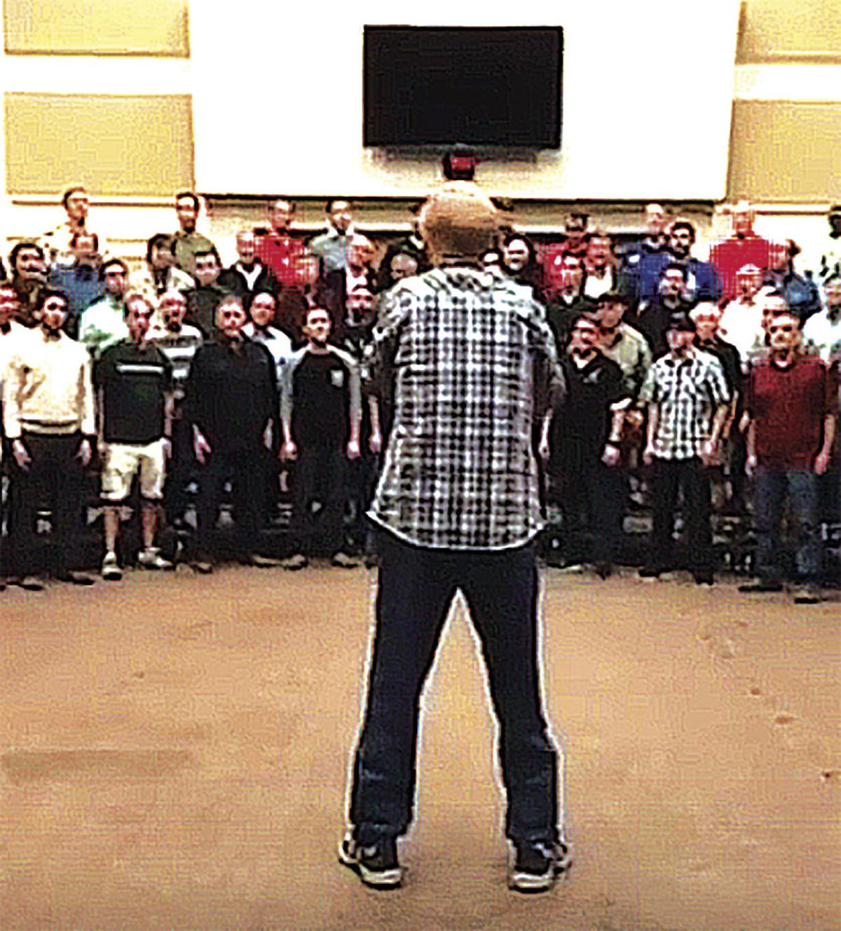 The north texas a cappella group vocal majority live streamed its