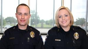 "<p><span style=""font-size: 12px;"">Mesquite police officers Ryan Nielson and Autumn Soto have received national attention</span><span style=""font-size: 12px;""> for their actions in rescuing a man from a burning vehicle after an early Sunday morning crash along Interstate-30.</span></p>"