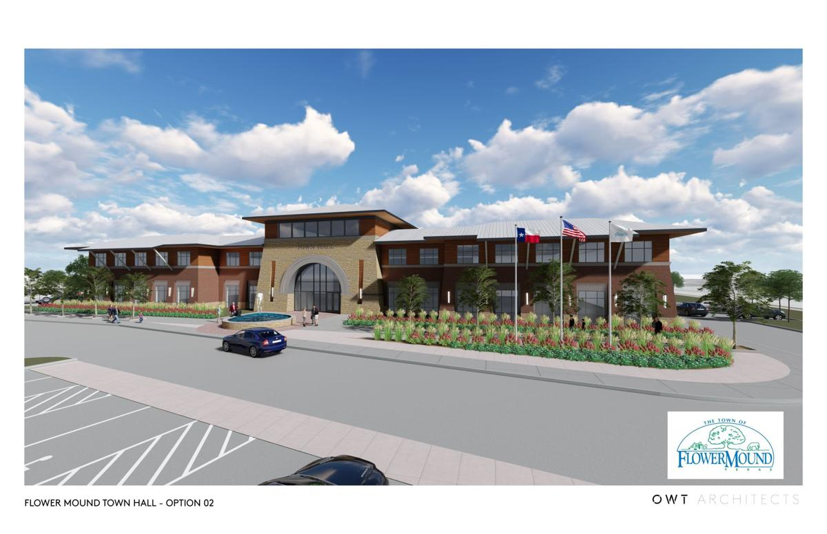 Early town hall plans presented to Flower Mound council News