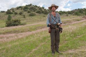 """<p>Producer Marklen Kennedy performs in """"Texas Rising.""""</p>"""