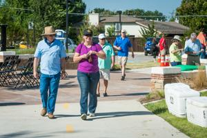 <p><span>Mesquite held a ceremony Saturday to officially open the first phase of Mesquite Heritage Trail, a 4.25 mile segment of hike and bike trail that will serve as the spine of the city's trail system.</span></p>