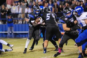 <p>Dallas Christian rushed for 552 yards in a 70-39 victory over Houston Lutheran South on Saturday.</p>