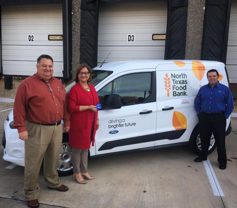 Van donation by Ford will help North Texas Food Bank ...