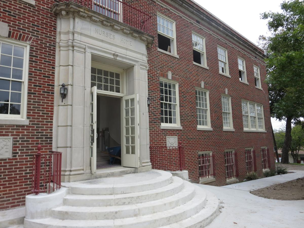 Old school renovation mckinney academy restores nurses for Renovating an old home