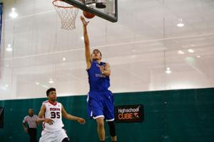 D.J. Hogg, Plano West boys basketball