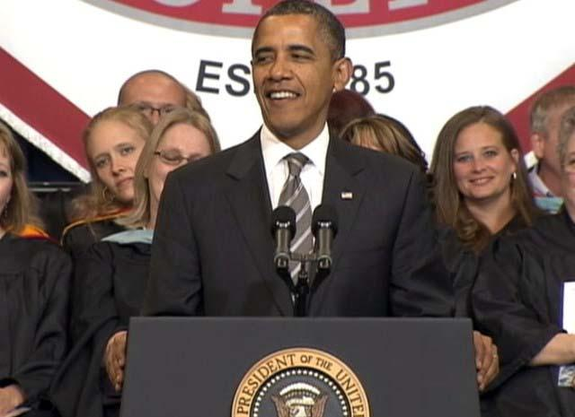 President Obama in Joplin