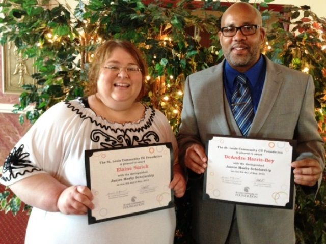 Elaine Smick and DeAndre Harris-Bey received Janice Mosby Scholarships ...