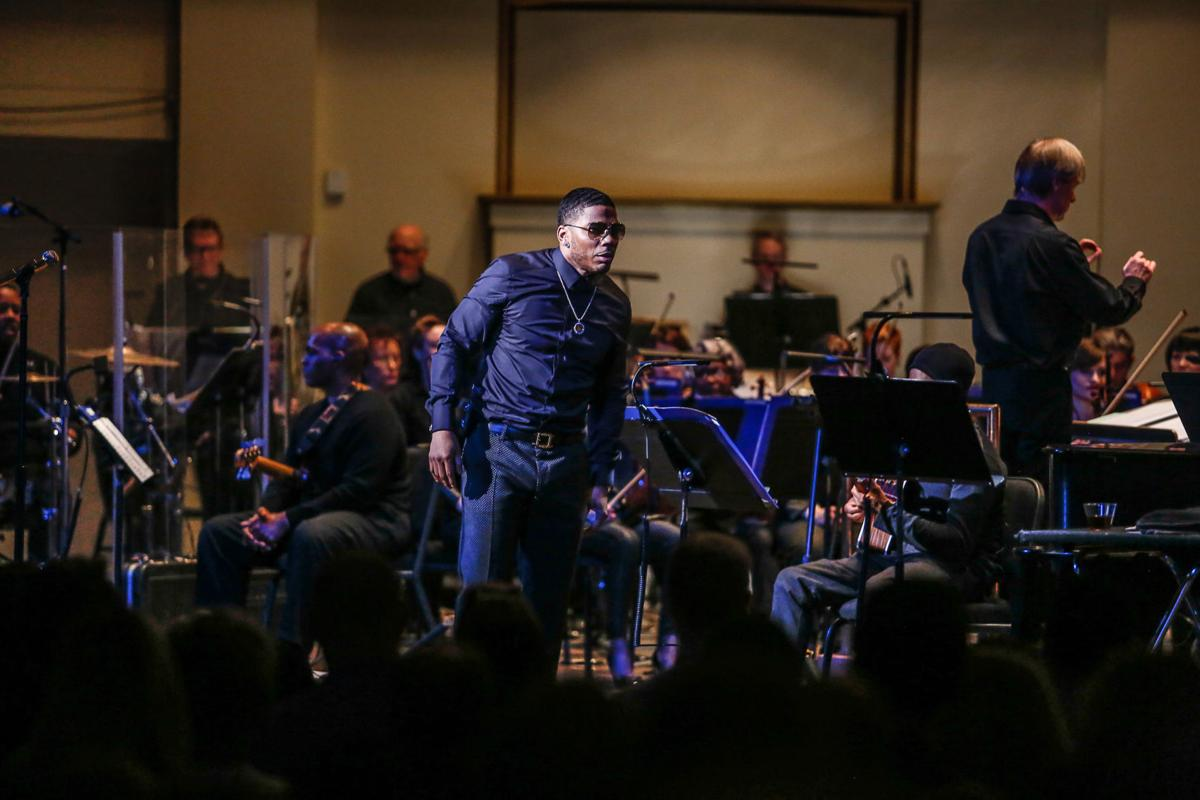 Nelly and St Louis Symphony orchestrate a crowd pleasing