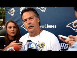 Jeff Fisher announces that the St. Louis Rams have signed QB Nick Foles to extension