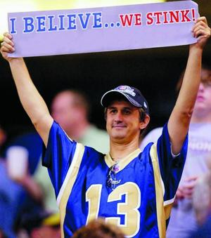 Know-nothing Rams fans