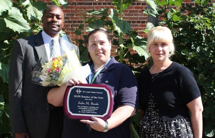 Julia Beede, 2012 SLPS Teacher of the Year