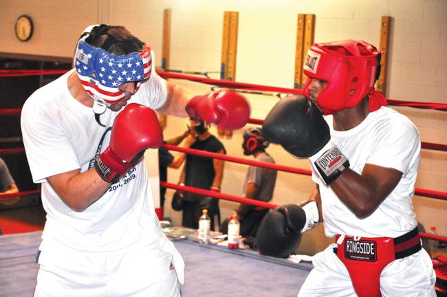 Boxing louis amateur st
