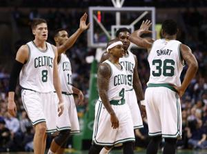 <p>Boston Celtics Head Coach Brad Stevens (not pictured) and his merry band of anonymous Boston ballers refused to tank despite losing the team's two best players via trade. Now the resilient team finds itself in the playoffs with a bright future ahead.</p>