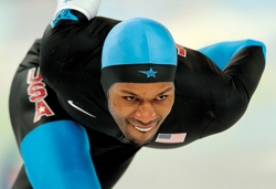 Black speed skater Shani Davis makes Olympics history