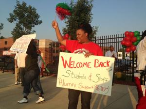 First day at Normandy School District