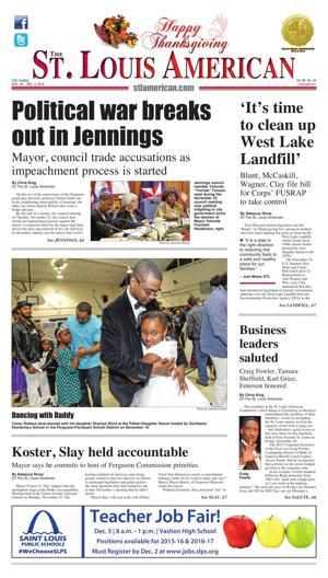 Front Page - Nov. 26, 2015