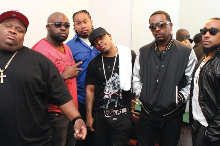 Dru Hill and Damien and Demarco of Super Smooth Productions