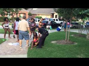 COPS CRASH POOL PARTY(ORIGINAL)