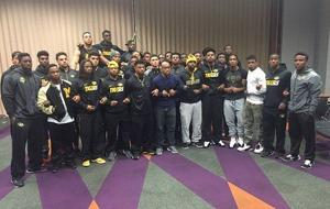 Black Mizzou football players support #ConcernedStudent1950