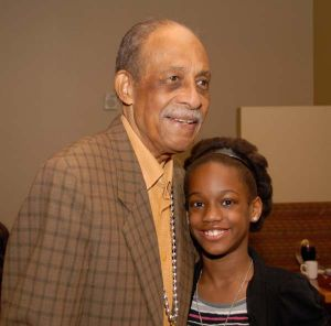 Dr. Leslie F. Bond and niece