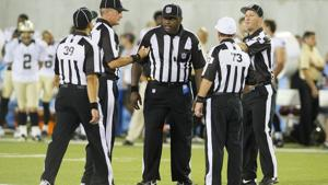 Fans penalized by repacement refs