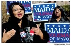 Meet St. Louis mayoral candidate Maida Coleman