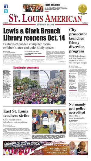Front Page - October 8, 2015