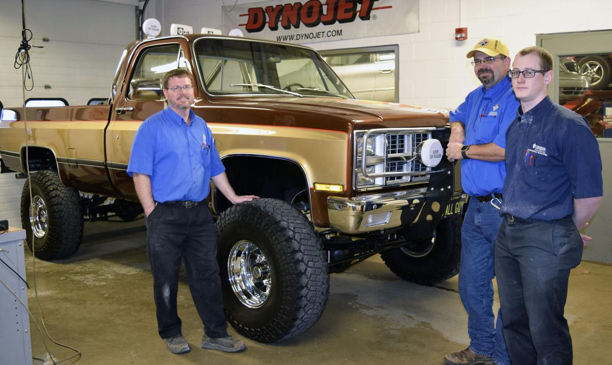 Chevy Truck Commercial VU Auto Club's 'Fall Guy' replica truck to be featured at ...
